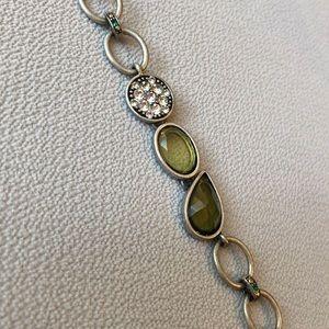 "Lia Sophia Jewelry - Lia Sophia Toggle Bracelet. 7.5"" longest length"